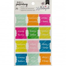 Adesivo - American Crafts Bible Journaling Sticker Tabs Chapters