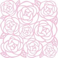 Recorte de papel - American Crafts Specialty Die-Cut Cardstock Dreamy Violet