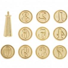 Kit de número - Number Wax Seal Kit