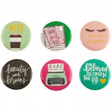 Enfeite - Beauty & Brains Flair Pins