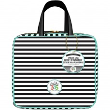 Bolsa - Happy Planner Storage Case  Striped