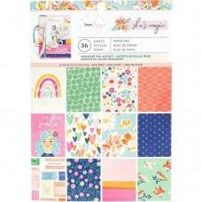Bloco de Papel - American Crafts Single-Sided Paper Pad Dear Lizzy She's Magic