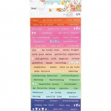 Adesivo - Dear Lizzy She's Magic Cardstock Stickers