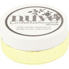 Nuvo Embellishment Mousse  Custard Cream