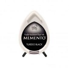 Carimbeira - Memento Dew Drop Dye Ink Pad Tuxedo Black