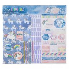 Kit de papel - Chase Rainbows Scrapbook Kit
