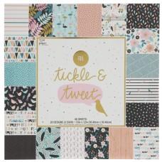 Bloco de Papel - Tickle & Tweet Foil Paper Pack