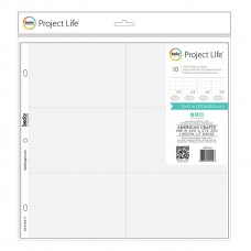 Refil plástico - Project Life Photo Pocket Pages Mix