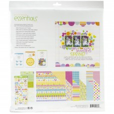 Kit de papéis - Doodlebug Essentials Page Kit  Simply Spring