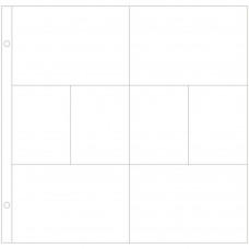 Refil plástico - Project Life Photo Pocket Pages 12/Pkg Design A