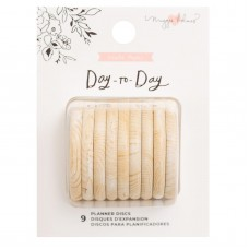 Disco - Maggie Holmes Day-To-Day Planner Discs Wood