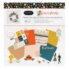 Bloco de Papel  - Crate Paper This is family Project Pad