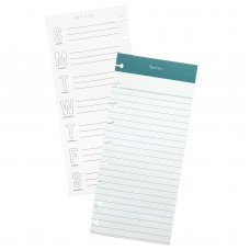 Refil Day to Day Planner - Maggie Holmes Day-To-Day Dbl-Sided Notepad  Notes & Meal Plan