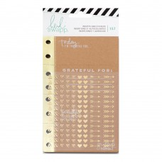 Refil - Heidi Heidi Swapp Memory Planner Inserts With Stickers Give Thanks