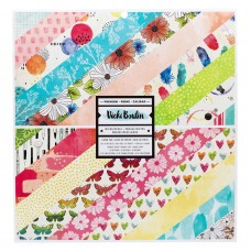 Bloco de Papel - American Crafts Double-Sided Paper Pad  Field Notes