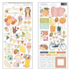 Adesivo - Dear Lizzy It's All Good Cardstock Stickers