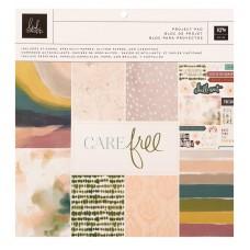 Bloco de Papel  - Heidi Swapp Care Free Project Pad