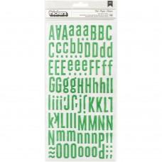 Alfabeto - Maggie Holmes Shine Puffy Alpha Stickers