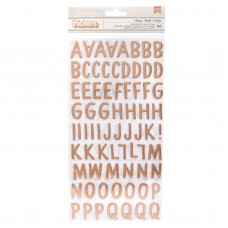 Alfabeto - American Crafts Thickers Stickers family