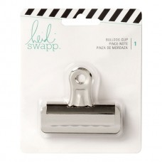 Clips  - Heidi Swapp Bulldog Paper clips prata