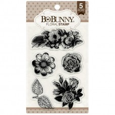 Carimbo - BoBunny Stamps Floral
