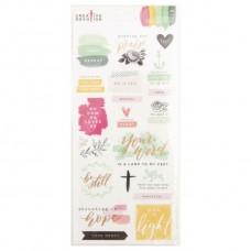 Adesivo - Creative Devotion Scripture Stickers