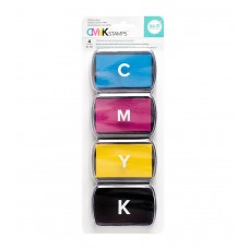 Kit de Carimbeira - We R Memory Keepers CMYK Ink Pad Set