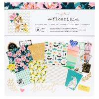 Bloco de Papel  - Crate Paper Flourish Project Pad