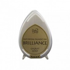 Carimbeira - Brilliance Pigment Ink Pad Mini gold