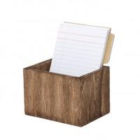 Organizador para receitas - Homemade Wooden Recipe Box