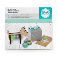 Suporte de washi tape - We R Wooden Tape Dispenser  Dog