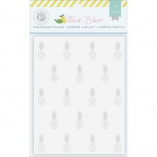 Placa de emboss - Citrus Bliss Embossing Folder Pineapple