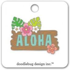 Flea Market Collectible Enamel Pin Aloha