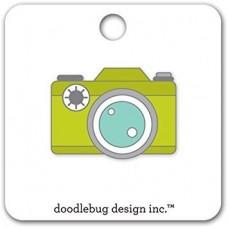 Flea Market Collectible Enamel Pin Camera
