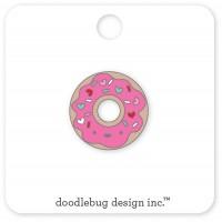 Flea Market Collectible Enamel Pin Donut
