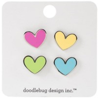 Flea Market Collectible Enamel Pin Heart