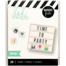 Alfabeto - Heidi Swapp Lightbox Inserts Mini Party Icons