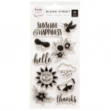 Carimbo - Paige Evans Bloom Street Clear Acrylic Stamps