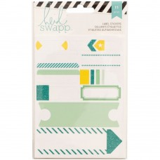 Adesivo - Heidi Swapp Stickers Labels/Teal