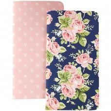 Refil Diário de viagem - Color Crush Traveler's Planner Notebooks  Floral & Stars