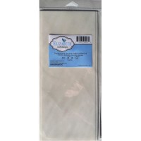 Papel adesivo - Elizabeth Craft Clear Double-Sided Adhesive Sheets