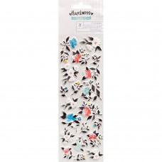 Adesivo - Hazelwood Puffy Stickers Floral