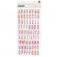 Alfabeto -  Heidi Swapp Color Fresh Thickers Stickers Alphabet/Multi Chipboard