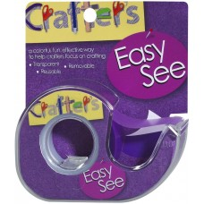 "Cola - Lee Products Crafter's Easy See Removable Tape .5""X720"""