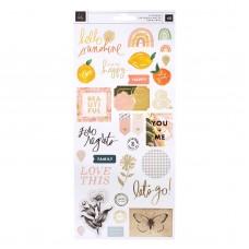 Adesivo - Heidi Swapp Storyline Chapters Cardstock Stickers