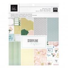 Bloco de papel - Heidi Swapp Storyline Chapters Project Pad