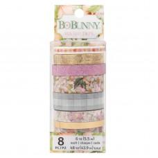 Washi tape - BoBunny Washi Tape  Garden Grove W/Foil & Glitter Accents