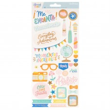 Adesivo - Obed Marshall Buenos Dias Cardstock Stickers Accents & Phrases