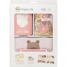 Cards - Project Life Value Kit  Lullaby Girl