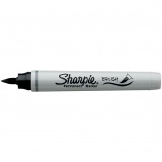 Caneta Permanente - Sharpie Brush Tip Permanent Marker